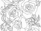 Free Coloring Pages Of Roses and Heart 25 Rose Coloring Page