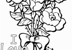 Free Coloring Pages Of Roses and Heart Coloring Pages Hearts with Roses This Very Blog S Post are Rose