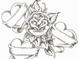 Free Coloring Pages Of Roses and Heart Cool Heart Coloring Sheets Free Heart & Rose Coloring