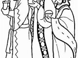 Free Coloring Pages Of the Three Wise Men to See Printable Version Of 3 Wise Men Coloring Page