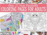 Free Easy to Print Coloring Pages for Adults Free Coloring Pages for Adults Adult Coloring Fun