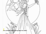 Free Fairy Coloring Pages for Adults to Print Free Printable Fairy Coloring Pages for Adults Cat Coloring Pages