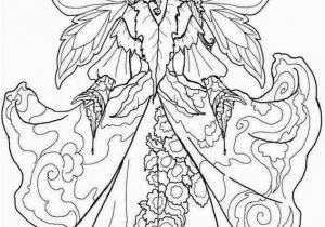 Free Fairy Coloring Pages for Adults to Print Pin by Wallflower Market On Coloring for Grown Ups