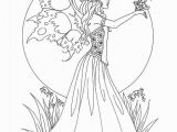 Free Fairy Coloring Pages Free Fairy Coloring Books Coloring Pages Everyday for Fun