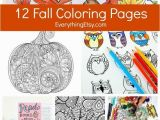 Free Fall Coloring Pages for Adults 12 Free Fall Coloring Pages for Adults Crafts Pinterest