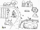 Free Farm Scene Coloring Pages Collection Of Coloring Pages Farm Scenes