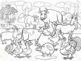 Free Farm Scene Coloring Pages Farm Animals Clipart Farm Scene