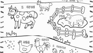 Free Farm Scene Coloring Pages Noted Free Farm Scene Coloring Pages Animal to Print
