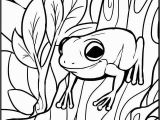 Free Frog Coloring Pages for Kids Prodigious Free Coloring Printables Picolour