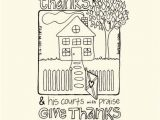 Free Give Thanks Coloring Pages Gateswiththankscolorsmalltint