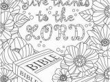 Free Give Thanks Coloring Pages Give Thanks