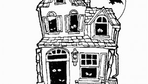 Free Halloween Haunted House Coloring Pages Halloween Haunted House Free Coloring Pages for Kids