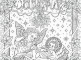 Free Holiday Coloring Pages for Adults 30 Christian Holiday Colouring Cards Digital Download