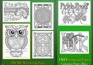 Free Leprechaun Coloring Pages Print Adult Coloring Pages Holiday St Pat S Day