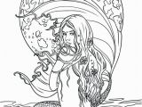 Free Mermaid Coloring Pages for Adults Adult Coloring Pages Mermaid at Getdrawings