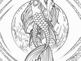 Free Mermaid Coloring Pages for Adults Mermaid Adult Coloring Pages at Getdrawings