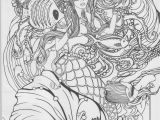 Free Mermaid Coloring Pages for Adults Mermaid Coloring Page