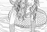 Free Mermaid Coloring Pages for Adults Mermaid Coloring Pages – Coloringcks