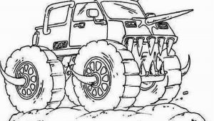 Free Monster Truck Coloring Pages to Print Get This Line Monster Truck Coloring Pages 6976