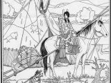 Free Native American Indian Coloring Pages Native American Chief Drawing at Getdrawings
