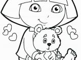 Free Nick Jr Coloring Pages Dora Coloring Page 3 Coloring for Kids Unique New Printable Free