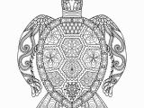 Free Ocean Life Coloring Pages Drawing Zentangle Turtle for Coloring Page Shirt Design
