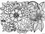 Free Online Coloring Pages for Adults Flowers 20 Free Printable Adult Coloring Pages Patterns Flowers