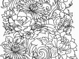 Free Online Coloring Pages for Adults Flowers Drawing Flower Flowers Adult Coloring Pages