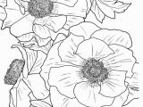 Free Online Coloring Pages for Adults Flowers From In Full Bloom A Close Up Coloring Book by Dove Free