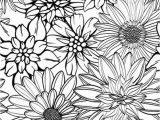 Free Online Coloring Pages for Adults Flowers Get This Detailed Flower Coloring Pages for Adults