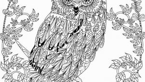 Free Owl Coloring Pages for Adults Owl Coloring Pages for Adults Free Detailed Owl Coloring