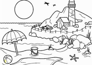 Free Preschool Summer Coloring Pages Coloring Pages Summer Season Pictures for Kids Drawing Free