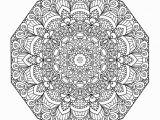 Free Printable Advanced Mandala Coloring Pages Advanced Mandala Coloring Pages Printable Coloring Home