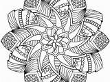 Free Printable Advanced Mandala Coloring Pages Free Printable Flower Mandala Coloring Pages at