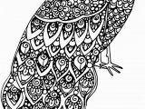 Free Printable Animal Coloring Pages for Adults Advanced Advanced Animal Coloring Page 19 Adult Coloring