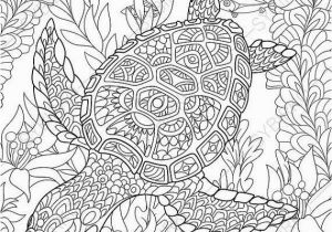 Free Printable Animal Coloring Pages for Adults Advanced Ocean World Turtle 2 Coloring Pages Animal Coloring Book Pages