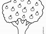 Free Printable Apple Tree Coloring Pages Nature Apple Tree Coloring Page for Kids Printable Free