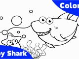 Free Printable Baby Shark Coloring Pages 6355 Shark Free Clipart 37