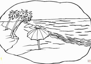 Free Printable Beach Scene Coloring Pages Beach Scene Coloring Page