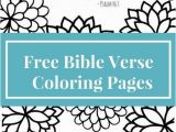 Free Printable Bible Coloring Pages with Scriptures Free Printable Bible Verse Coloring Page