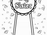 Free Printable Big Sister Coloring Pages Big Sister Coloring Page