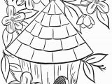 Free Printable Birdhouse Coloring Pages Bonnie A Book to Color