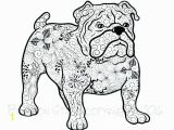 Free Printable Bulldog Coloring Page Terrific L Georgia Bulldogs Coloring Pages Bulldogs Coloring