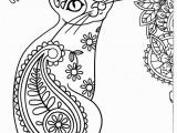 Free Printable Cat and Dog Coloring Pages Cat Coloring Pages Printable Lovely Cool Od Dog Free Colouring Fun