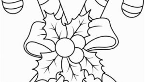 Free Printable Christmas Coloring Pages Candy Canes Christmas Colouring Pages Of Candy Canes with Cane Coloring Page