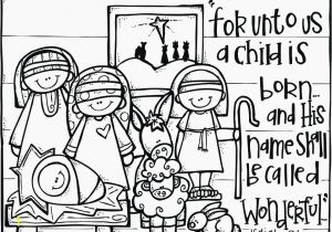 Free Printable Christmas Coloring Pages Religious Christmas Coloring Pages for Preschoolers Luxury Free Art for Kids