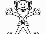 Free Printable Christmas Elf Coloring Pages Free Printable Elf Coloring Pages for Kids