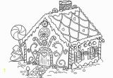 Free Printable Christmas Gingerbread House Coloring Pages 20 Free Printable Gingerbread House Coloring Pages