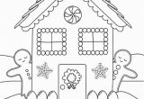 Free Printable Christmas Gingerbread House Coloring Pages Get This Free Printable Gingerbread House Coloring Pages