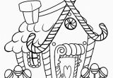 Free Printable Christmas Gingerbread House Coloring Pages Get This Kids Printable Gingerbread House Coloring Pages
